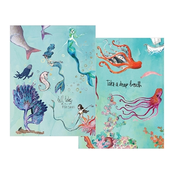 JD-014 Spellbinders WASHI MERMAIDS Washi Sheets by Jane Davenport