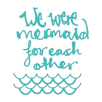 JDD-033 Spellbinders MERMAID FOR EACH OTHER Dies by Jane Davenport