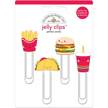 Doodlebug PERFECT COMBO Jelly Clips Paper Clip So Much Pun 6053