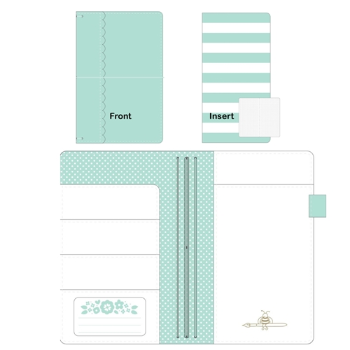 Doodlebug MINT Daily Doodles Travel Planner 5991 Preview Image