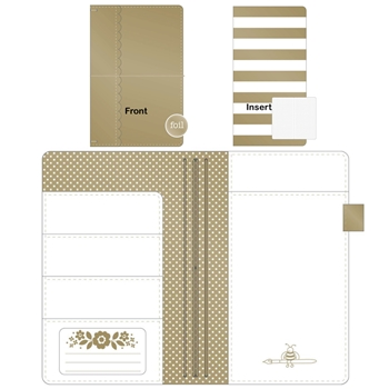 Doodlebug GOLD Daily Doodles Travel Planner 5992
