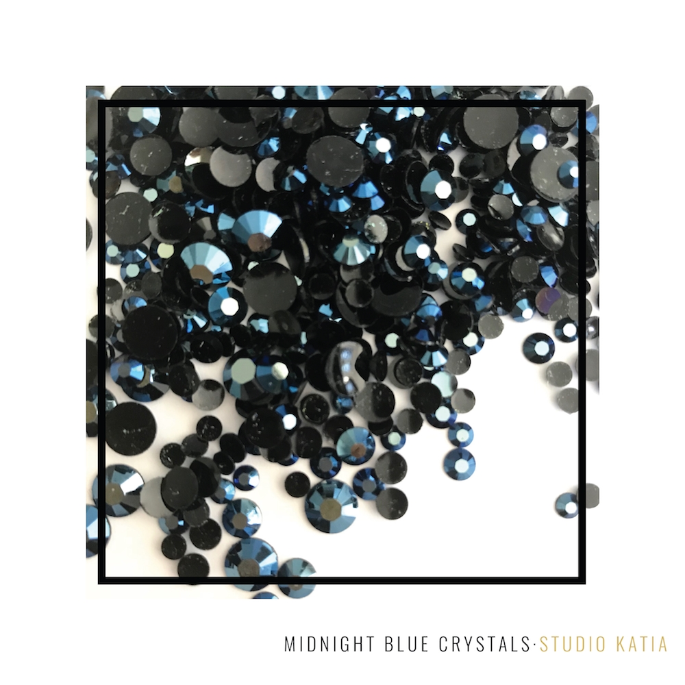 Studio Katia Midnight Blue Crystals