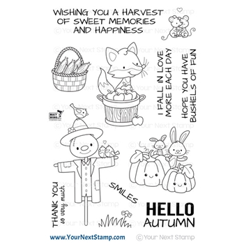 Your Next Stamp AUTUMN HARVEST Clear cyns666