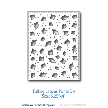 Your Next Die FALLING LEAVES PANEL ynsd783