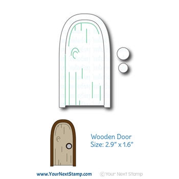 Your Next Die WOODEN DOOR ynsd788