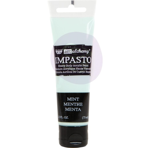 Prima Marketing MINT Finnabair Art Alchemy Impasto Paint 966416 Preview Image