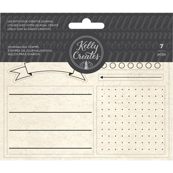 Kelly Creates JOURNALING Clear Stamps 348277kc