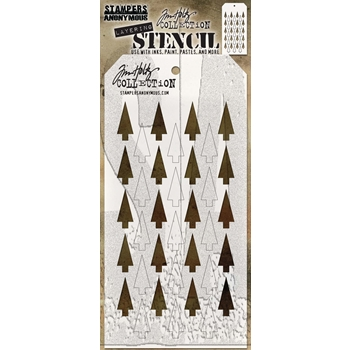 Tim Holtz Layering Stencil SHIFTER TREE THS113