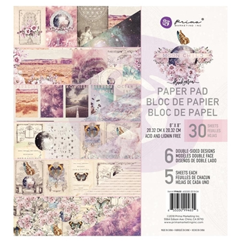 Prima Marketing MOON CHILD 8 x 8 Paper Pad 994655