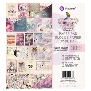 Prima Marketing MOON CHILD 6 x 6 Paper Pad 994662