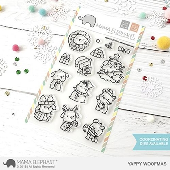 Mama Elephant Clear Stamps YAPPY WOOFMAS