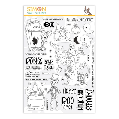 Simon Says Clear Stamps FRIGHTFUL FUN sss101941 Preview Image