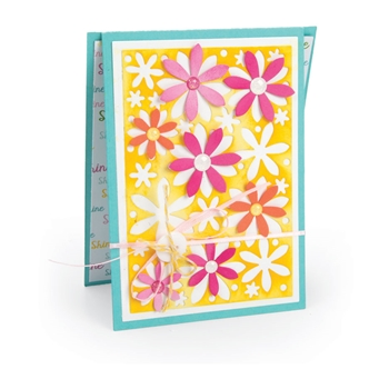 Sizzix Framelits FLOWERS DROP INS Die Set 663125