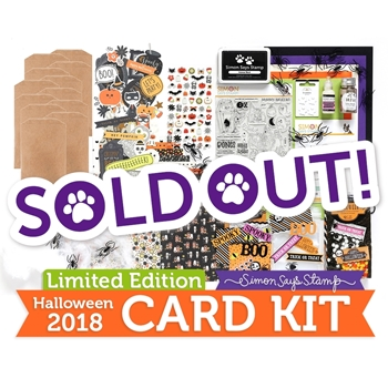 Limited Edition Simon Says Stamp Card Kit FRIGHTFUL FUN HALLOWEEN SSSFFHK