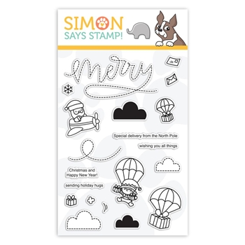 Mama Elephant Clear Stamps MERRY MAIL sss101924 STAMPtember Exclusive