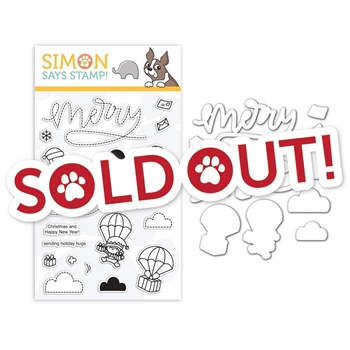 Mama Elephant Clear Stamp and Die Set MERRY MAIL SR18SETME STAMPtember Exclusive