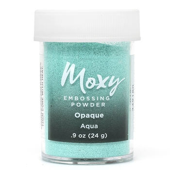 American Crafts AQUA Opaque Moxy Embossing Powder 349180