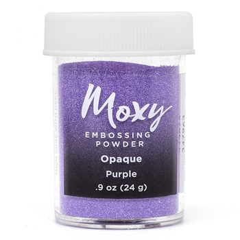 American Crafts PURPLE Opaque Moxy Embossing Powder 347963