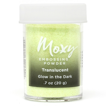 American Crafts GLOW IN THE DARK Translucent Specialty Moxy Embossing Powder 347965