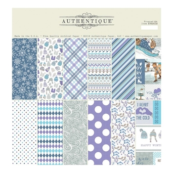 Authentique FROSTED 12 x 12 Collection Kit frs008