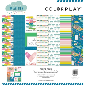 PhotoPlay UNDER THE WEATHER 12 x 12 Collection Pack ColorPlay uw9120