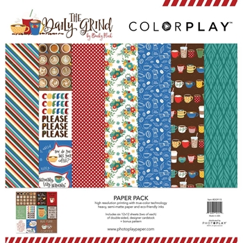 PhotoPlay THE DAILY GRIND 12 x 12 Collection Pack ColorPlay dg9115
