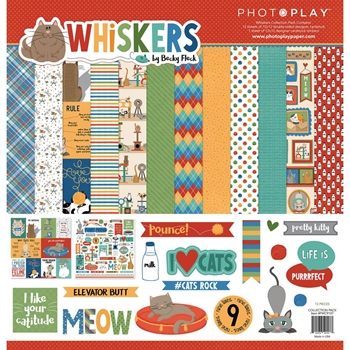 PhotoPlay WHISKERS 12 x 12 Collection Pack fwc9107