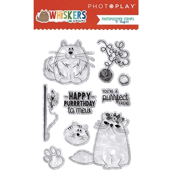 PhotoPlay WHISKERS Clear Stamps fwc9109