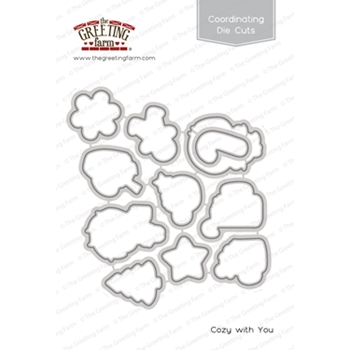 The Greeting Farm COZY WITH YOU Coordinating Die Cuts TGF434