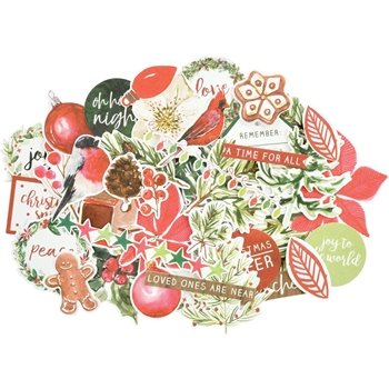 Kaisercraft PEACE AND JOY COLLECTABLES Die Cut Shapes CT945
