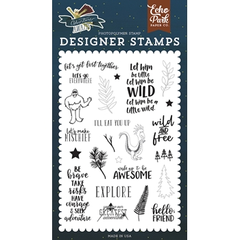 Echo Park GET LOST TOGETHER Clear Stamps aa163042