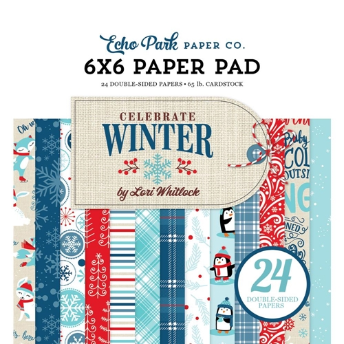 Echo Park Celebrate Winter 6x6 Paper Pack