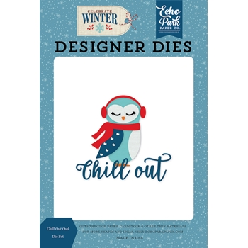 Echo Park CHILL OUT OWL Die Set cw162040