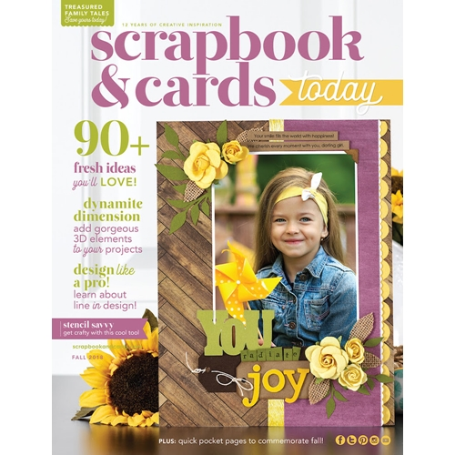 Scrapbook & Cards Today Magazine FALL 2018 Issue sctfe18 Preview Image