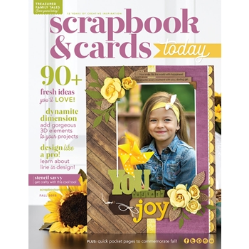 Scrapbook & Cards Today Magazine FALL 2018 Issue sctfe18