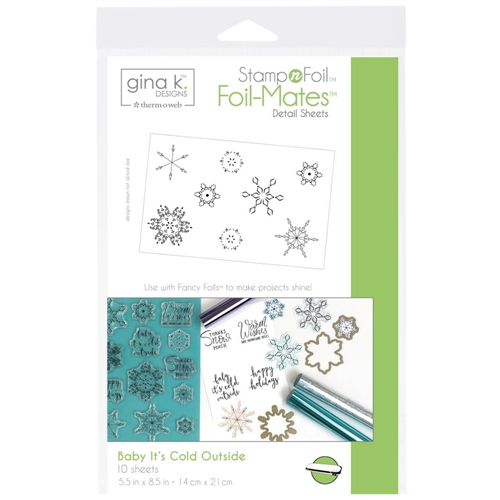 Therm O Web Gina K Designs BABY IT'S COLD OUTSIDE Foil-Mates 18118 Preview Image