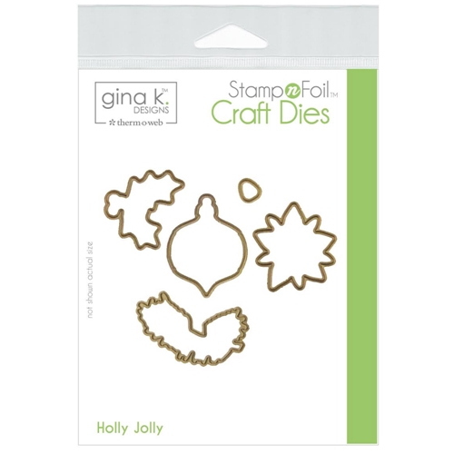 Therm O Web Gina K Designs HOLLY JOLLY Die Set 18121 Preview Image