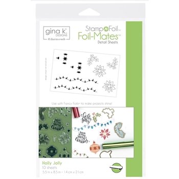 Therm O Web Gina K Designs HOLLY JOLLY Foil-Mates 18117