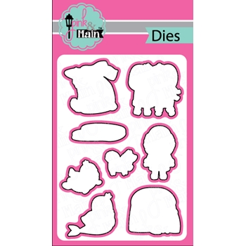 Pink and Main ESKIMO KISSES Dies PNM175