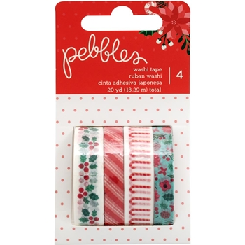 Pebbles Inc. WASHI TAPE Cozy and Bright 733938