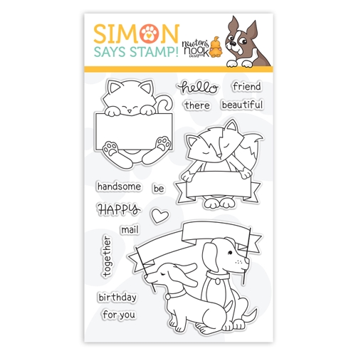 Newton's Nook Clear Stamps HELLO BEAUTIFUL sss101933 STAMPtember Exclusive Preview Image