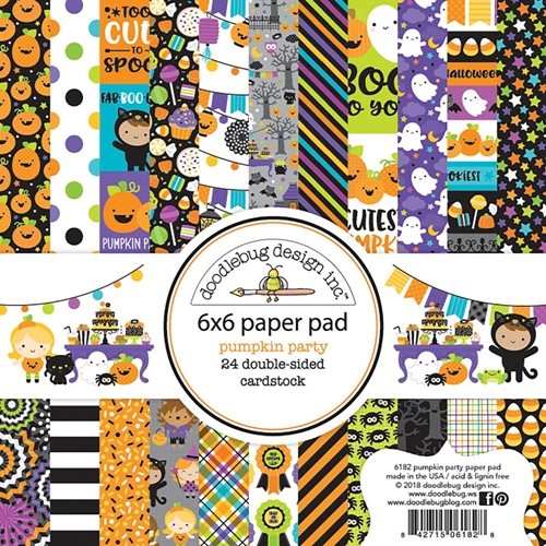 Doodlebug Pumpkin Patch Paper Pack (similar to the one I used)