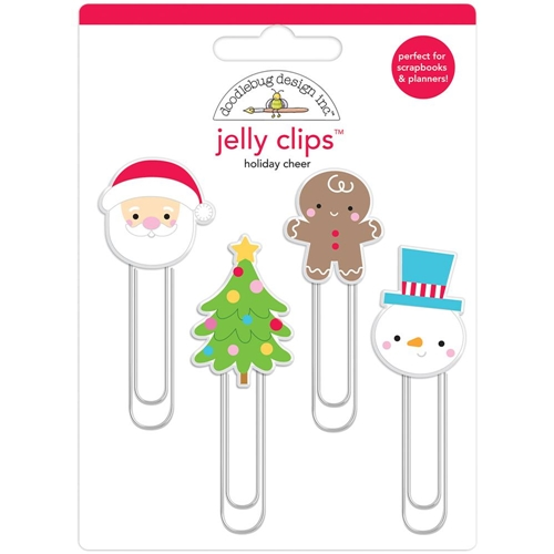 Doodlebug HOLIDAY CHEER Jelly Clips Paper Clip Christmas Town 6163 Preview Image