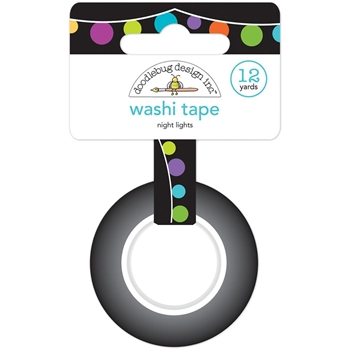 Doodlebug NIGHT LIGHTS Washi Tape 6138 Pumpkin Party