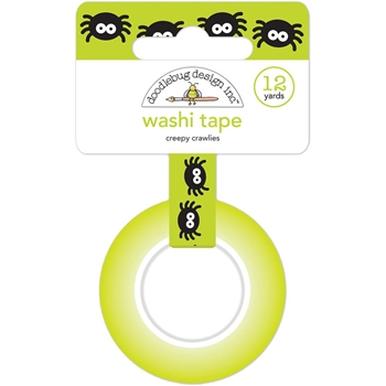Doodlebug CREEPY CRAWLIES Washi Tape 6141 Pumpkin Party