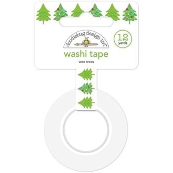 Doodlebug WEE TREES Washi Tape 6145 Christmas Town