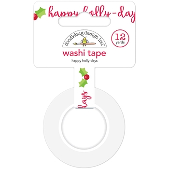 Doodlebug HAPPY HOLLY-DAYS Washi Tape 6143 Christmas Town