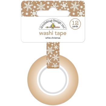Doodlebug WHITE CHRISTMAS Washi Tape 6142 Town