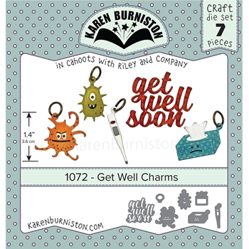 Karen Burniston GET WELL CHARMS Dies 1072