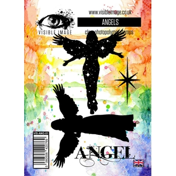 Visible Image ANGELS Clear Stamps VIS-ANG-01